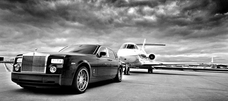 VIP transportation B&W